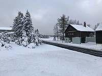 chata v zimně - k pronajmutí Moldava - Nové Město