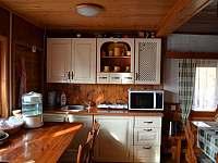 kuchyn - chata k pronájmu Moldava - Nové Město