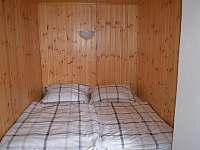 ložnice 1,np - pronájem chaty Moldava - Nové Město