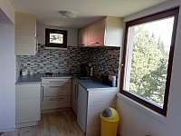 kuchyň - chata ubytování Klíny - Rašov