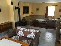 Obývací pokoj - pronájem chalupy Bublava