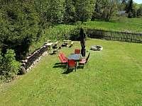 Zahrada - chalupa ubytování Bublava