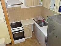 Kuchyně - apartmán k pronajmutí Boží Dar