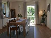 obývací pokoj - chalupa ubytování Abertamy