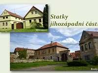 Venkovské stavení u koňské farmy - Měrunice
