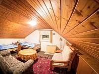 2.ložnice v 1. patře - chata k pronajmutí Jáchymov - Nové Město