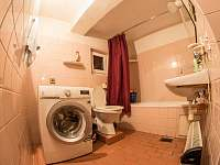 koupelna - chata k pronajmutí Jáchymov - Nové Město