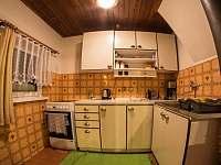 kuchyňská linka - chata k pronájmu Jáchymov - Nové Město