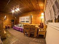 obývák - chata ubytování Jáchymov - Nové Město