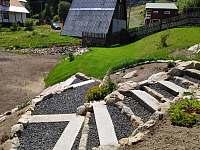 Schody na zahradu - Pernink