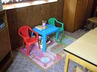 Dětský koutek ve společnské místnosti