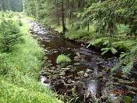 horský potok - chalupa k pronajmutí Kraslice