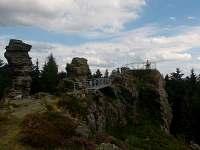vyhlídka na Vysokém kameni