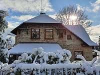 zimní pohoda - chata k pronajmutí Abertamy