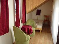 ložnice - pronájem chalupy Bublava