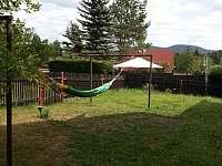 relax na zahradě - chalupa k pronajmutí Bublava