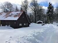 Chata k pronajmutí - zimní dovolená Klíny