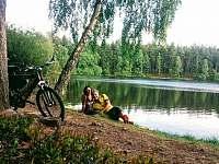 pohodoví majitelé - Černé jezero 6 km