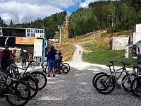 trail park Klínovec - nástupní stanice 11 km