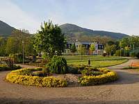 Park u Lázní Evženie - Klášterec nad Ohří