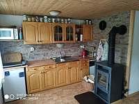 Plně vybavená kuchyň s dvojplotýnkovým vařičem - Klášterec nad Ohří