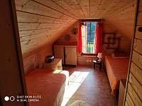 Zadní ložnice v podkroví - Klášterec nad Ohří