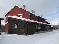 ubytování Černý Potok na chatě