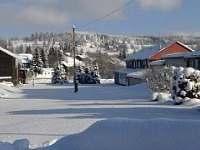 Louka v zimě - chata k pronajmutí Jáchymov - Mariánská