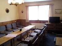 Společenská místnost - pronájem chaty Jáchymov - Mariánská