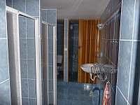 WC, koupelna - chalupa ubytování Nové Zvolání - Vejprty
