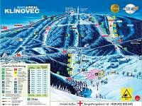 Mapa skiareál Klínovec