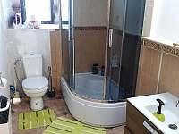 koupelna - pronájem chalupy Kovářská