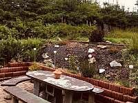 terasa - chalupa k pronájmu Kovářská