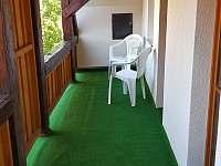Balkon - apartmán ubytování Abertamy