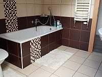 Koupelna - apartmán k pronajmutí Abertamy