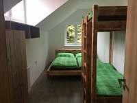4 lůžkový pokoj - chata k pronájmu Loučná pod Klínovcem