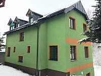 Zadní pohled - chata ubytování Loučná pod Klínovcem