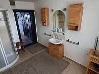 koupelna - chalupa k pronájmu Tisová