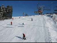 Čtyřsedačková lanovka skiareal Bublava -