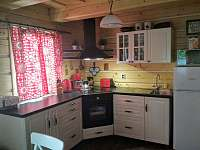 Kuchyň roubenka Janka - pronájem roubenky Bublava