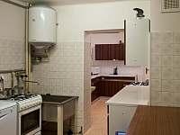 Chata U Permoníka kuchyň - ubytování Mariánská