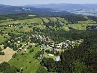 Chata U Permoníka Mariánská - pohled shora -