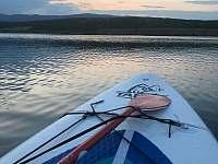 jezero Milada - paddleboarding - Ústí nad Labem