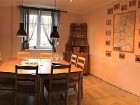 jídelní kout - rekreační dům ubytování Ústí nad Labem