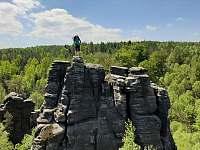skalní oblast Ostrov - Ústí nad Labem