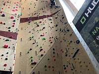 umělá lezecká stěna - HUDY - Ústí nad Labem