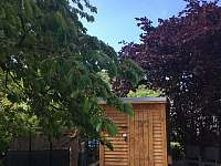venkovní sauna - rekreační dům ubytování Ústí nad Labem