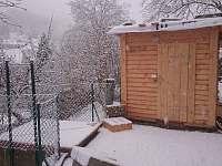 Venkovní sauna - rekreační dům k pronájmu Ústí nad Labem