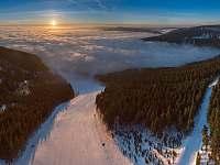 Ski areal Klinovec - vila k pronajmutí Loučná pod Klínovcem