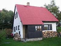 Horská chata Svahová - pohled ze zahrady